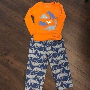Carters dinosaur pajamas